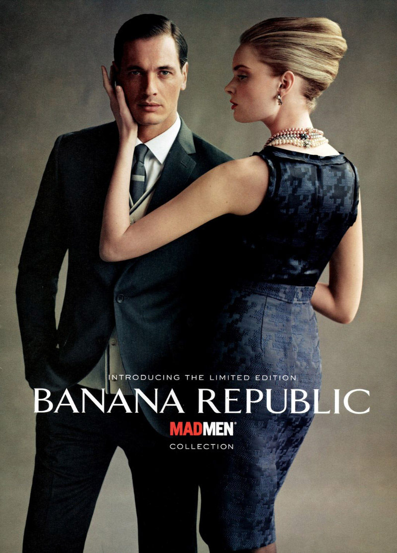 mad men banana republic ad hot sex porn lesbain