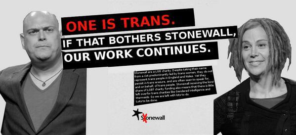 one gay trans